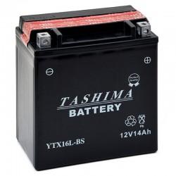 Batterie moto YTX16L-BS 12V...