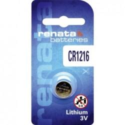 Pile bouton lithium CR1216...