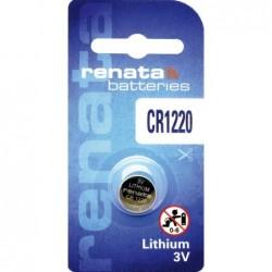 Pile bouton lithium CR1220...