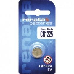Pile bouton lithium CR1225...