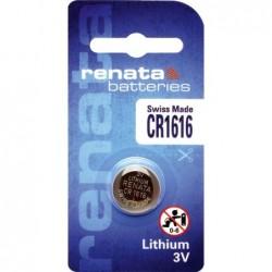 Pile bouton lithium CR1616...