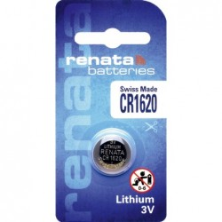 Pile bouton lithium CR1620...