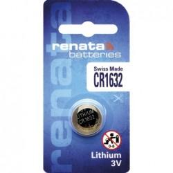 Pile bouton lithium CR1632...