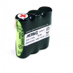 Batterie Nimh 3x AA 3S1P...