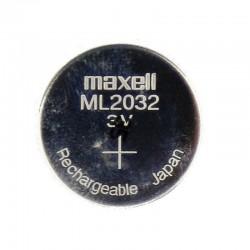Accus bouton Lithium ML2032...