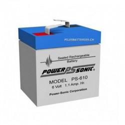 PS610 GB - 6Volts - 1 Ah