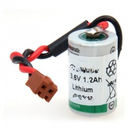 Batterie automate 1x 1/2AA...