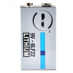 Pile lithium 6LF22 9V 1.2Ah