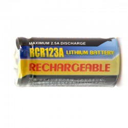 RCR123 RECHARGEABLES 3V...